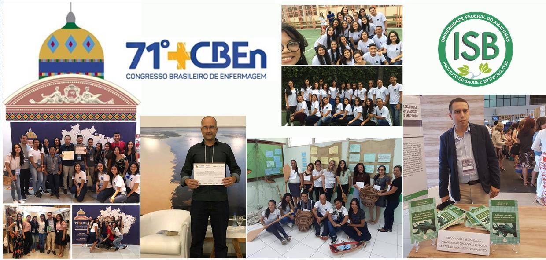 Professores e alunos do ISB participam do 71º Congresso Brasileiro de Enfermagem em Manaus, Amazonas